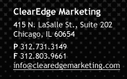 ClearEdge Marketing Contact Info